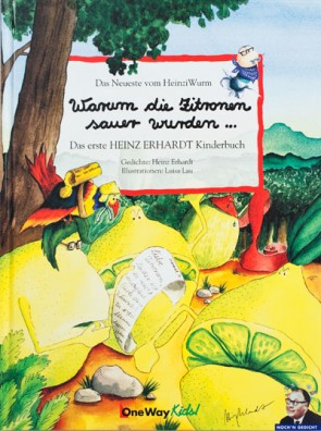 Heinz Erhardt Buch · Warum die Zitronen sauer wurden